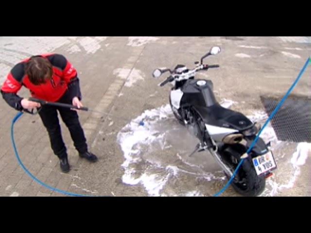 S100 Motorradpflege