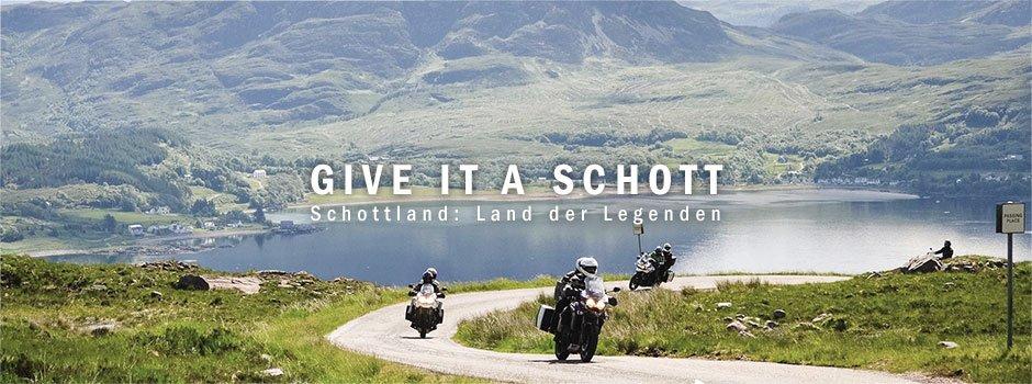 Mit Motourismo nach Schottland