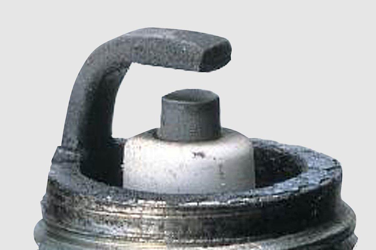 Fig.2: An intact spark plug