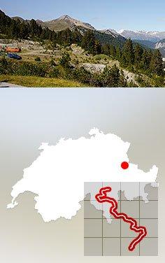 Zentraleuropa, Schweiz: Appenzell - St. Moritz
