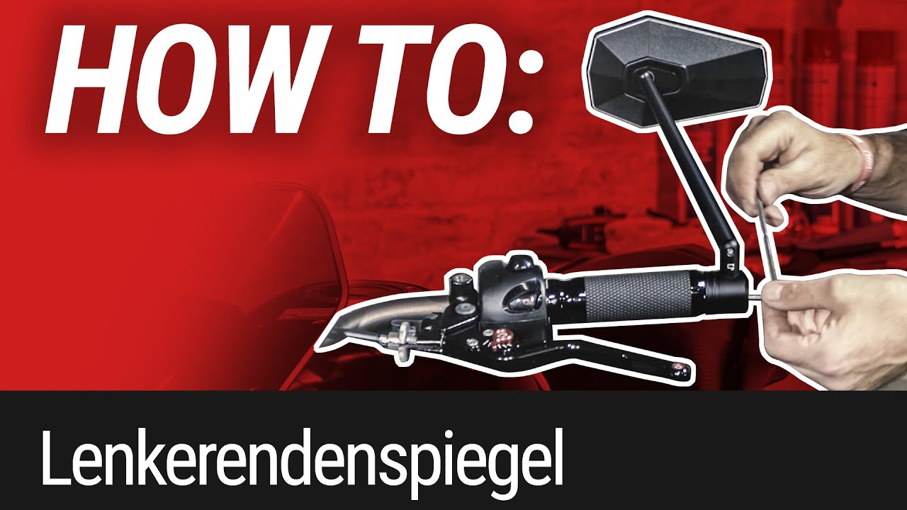HOW TO: Lenkerendenspiegel montieren (gazzini)