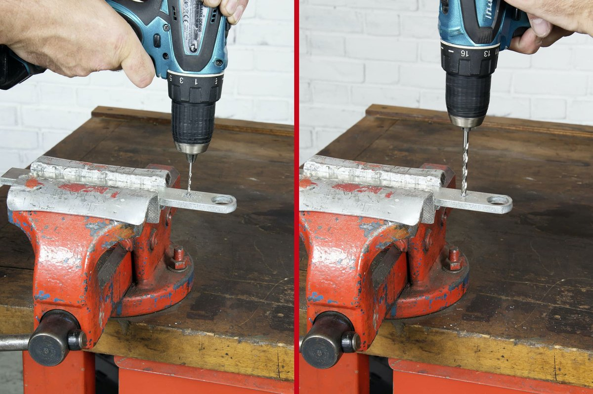 Part 1, Step 2 – It's essential to drill the pilot hole very precisely