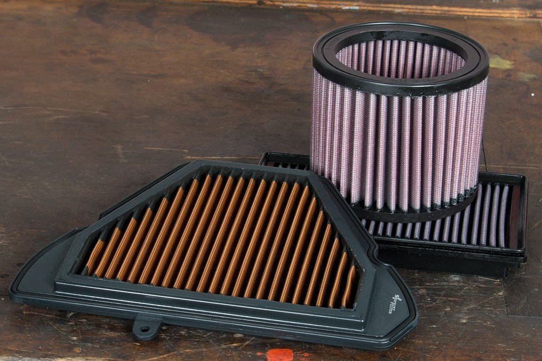 Permanent air filters from the Louis accessories range