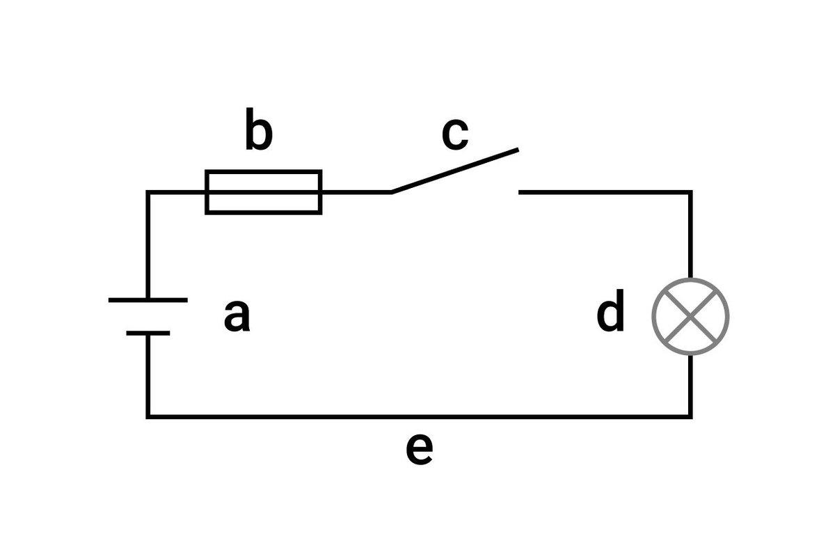 Circuit électrique avec fusible
