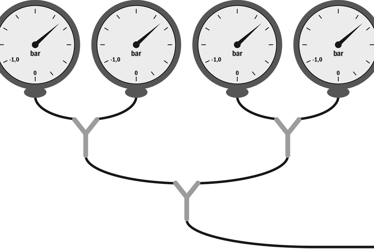 Step 3, Fig. 1 – Calibrating all the gauges on a single cylinder is essential