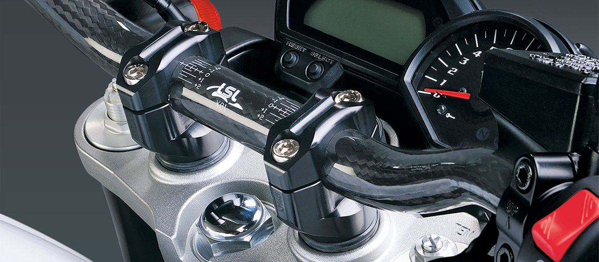 Handlebar clamps or risers