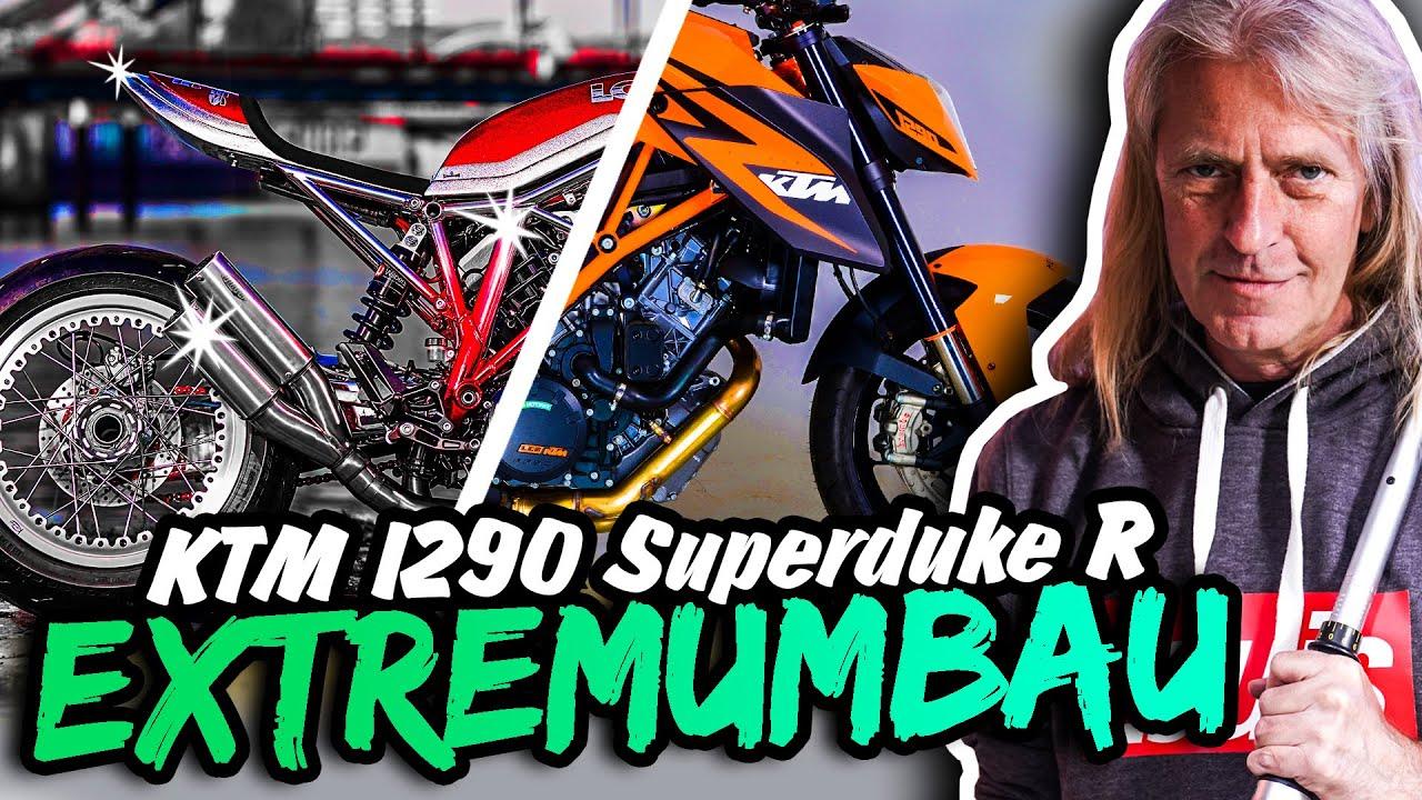 EXTREMUMBAU: KTM 1290 Superduke R wird zu CATY M. GLAM!