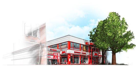 Od roku 1985 sklep opowierzchni 2400m², zlokalizowany przy hamburskiej Süderstrasse83 pozostaje największym zoddziałów firmy Louis