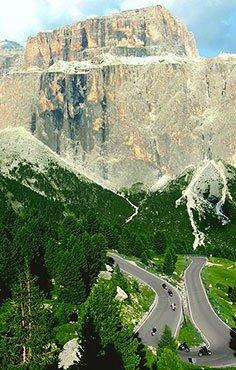 Italien: Trentino – Dolomiten-Legenden 1 Motorrad Tour