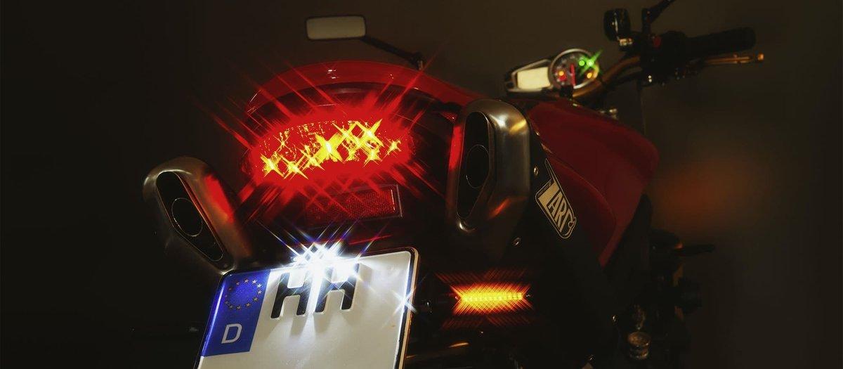 Motorrad LED-Blinker