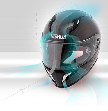 Nishua - The helmet