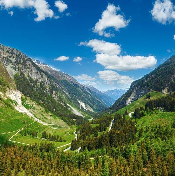 Österreich Kaunertaler Gletscherstraße