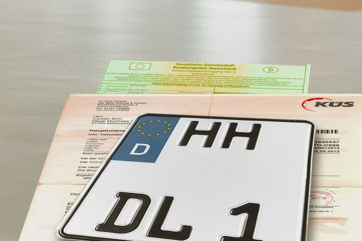 Vehicle registration documents