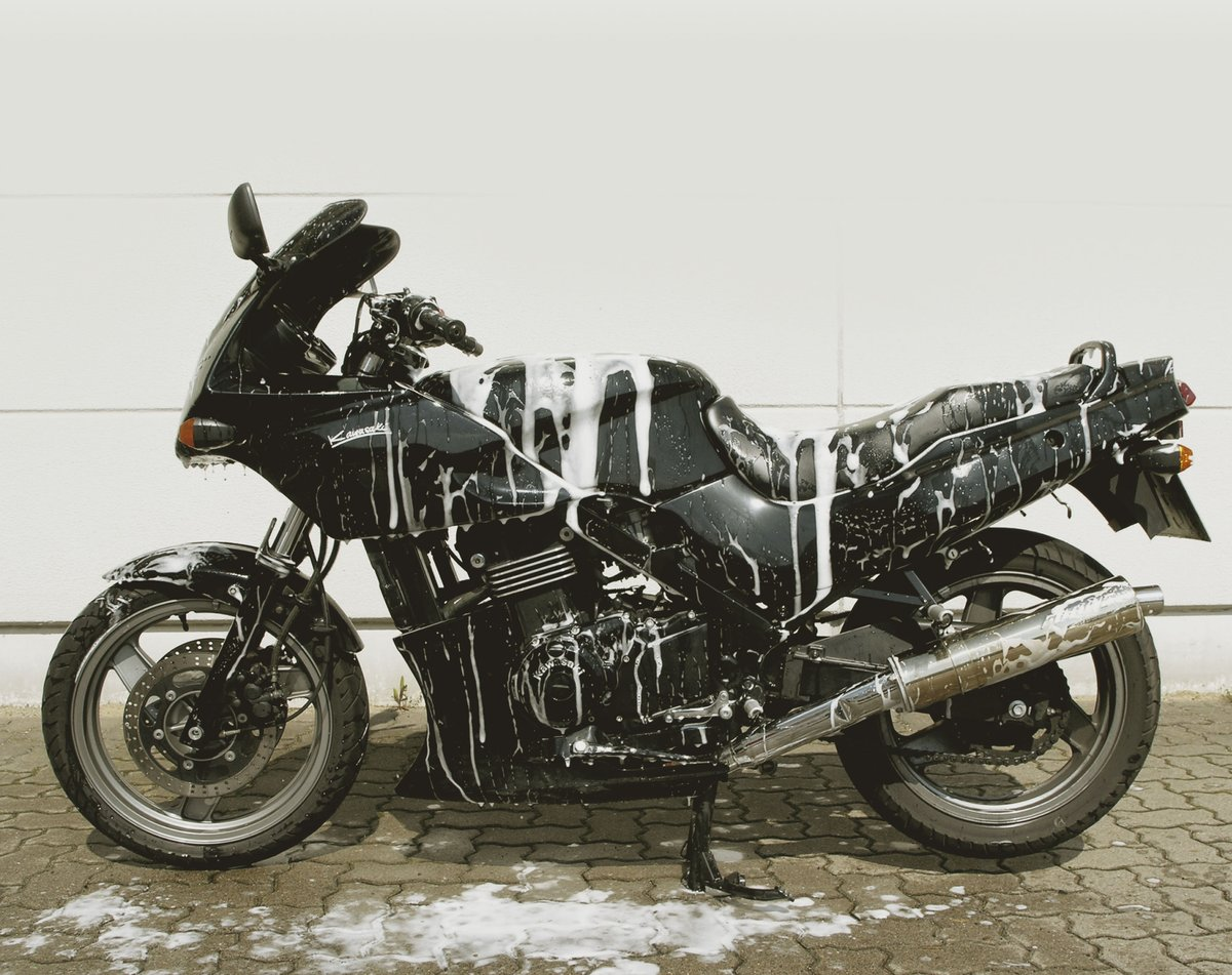 Motorradpflege und Wartung