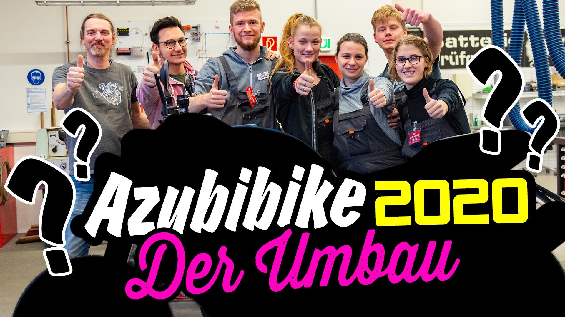 PROJEKT: AZUBIBIKE 2020 Teil 2 – Der Umbau