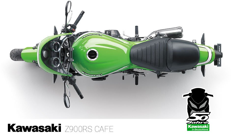 50 Jahre Kawasaki in Deutschland –Kawasaki Z900 RS CAFE