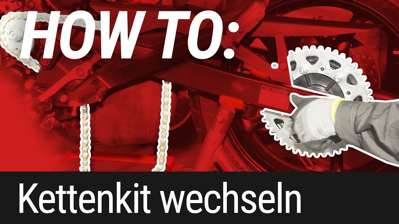 HOW TO: Kettensatz wechseln am Motorrad