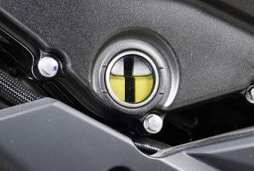 Motorradwartung - Ölstand