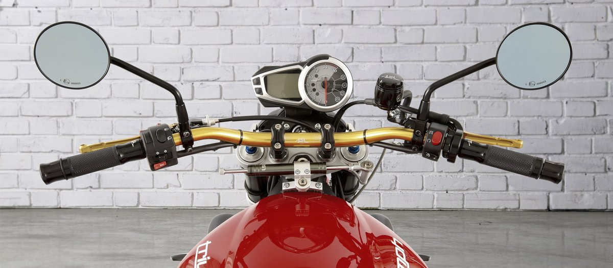 Handlebar conversion for your motorbike
