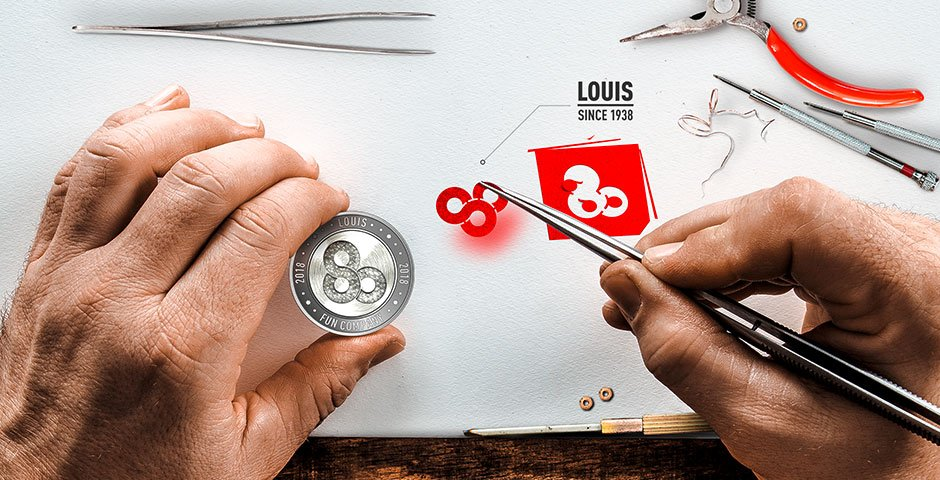 Presenting Louis – The history of Louis